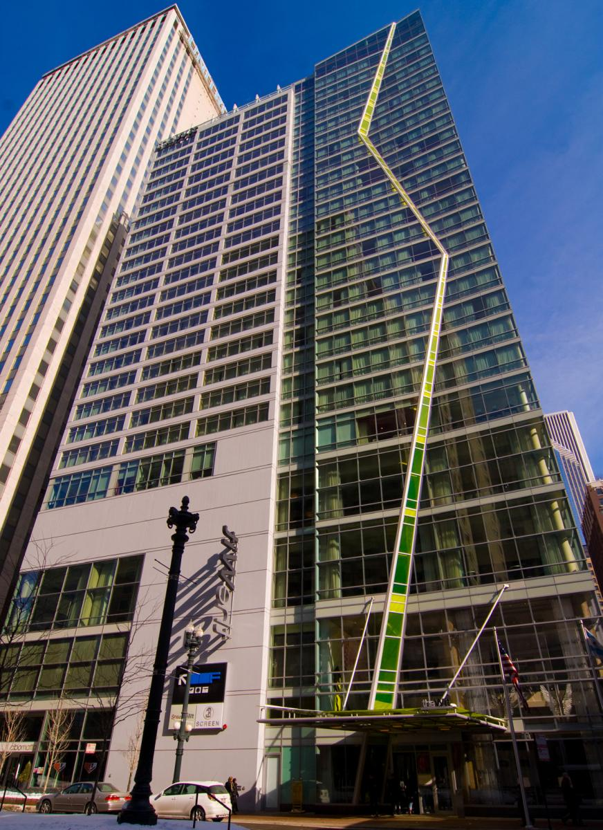 The wit hotel curtainwall design consulting for Design consultancy chicago