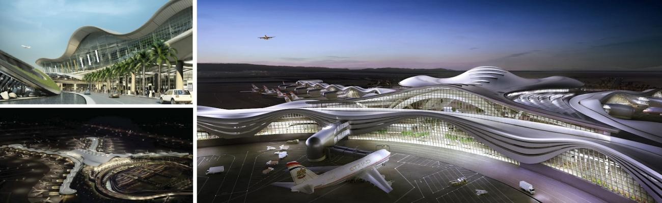 Abu dhabi international airport midfield complex for Hispano international decor abu dhabi