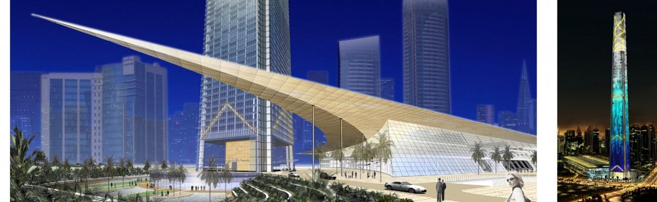 Doha Convention Center and Tower | Curtainwall Design ...